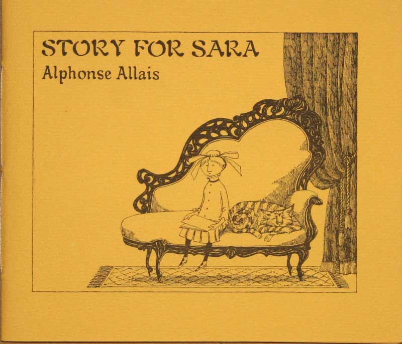 Edward Gorey - Story for                     Sara
